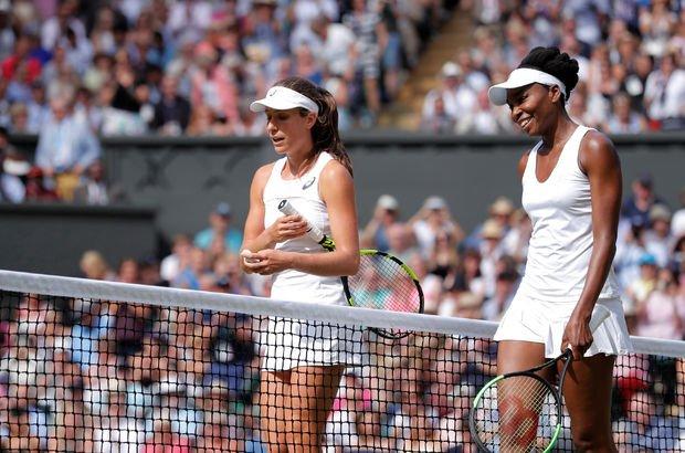 Venus Williams Wimbledon'da finale yükseldi