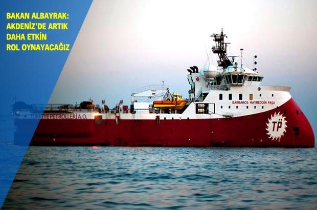 Barbaros Hayreddin Paşa gemisi Güzelyurt'ta