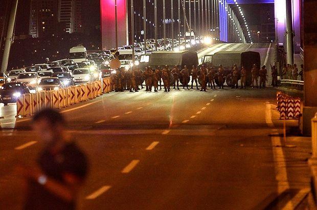 15 Temmuz Şehitler Köprüsü'nde yaşananlara ilişkin 140 şüpheli hakkında iddianame