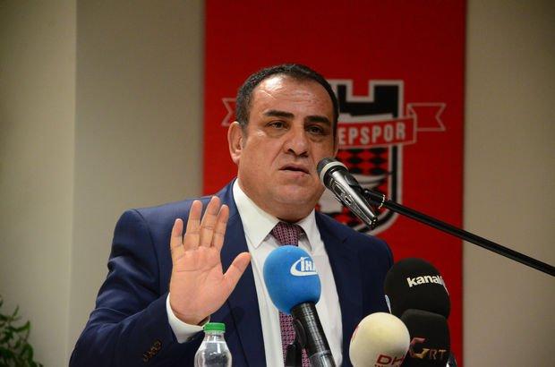 İbrahim Kızıl Gaziantepspor başkanlığını bıraktı