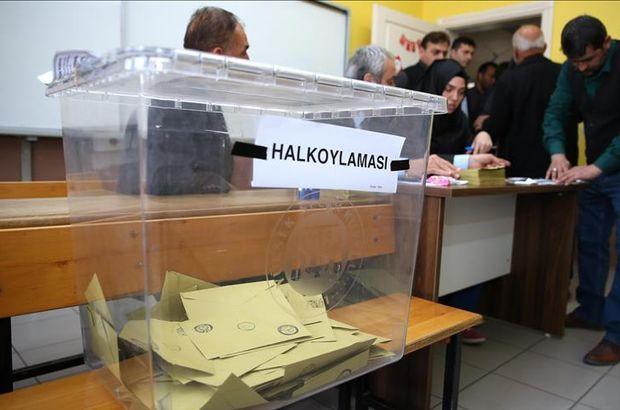 TÜİK 16 Nisan referandumu istatistiklerini açıkladı