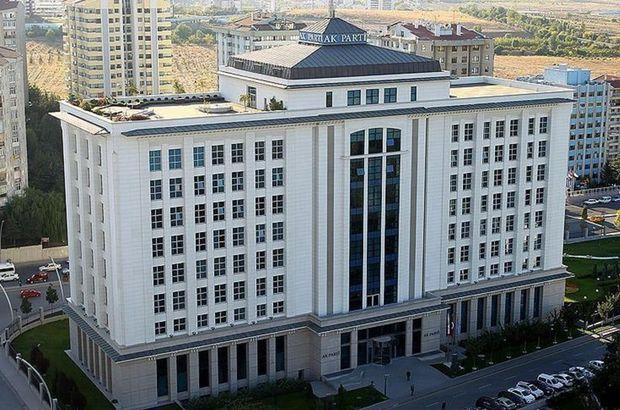 AK Parti MYK Pazartesi günü toplanacak