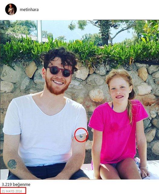 Metin Hara koluna Adriana Lima'nın dövmesini mi yaptırdı?