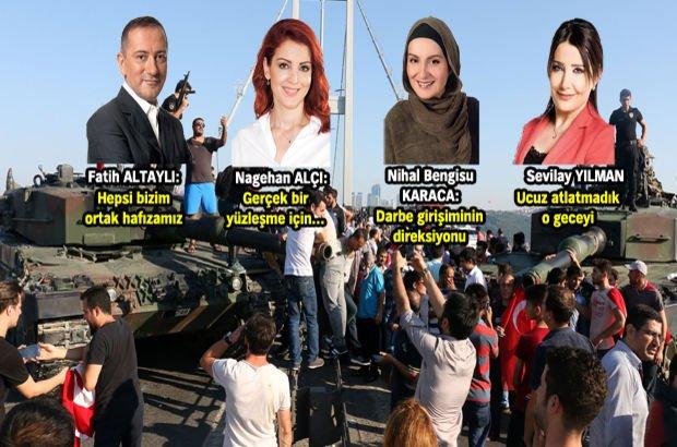 Gazete Habertürk yazarları 15 Temmuz'u yazdı
