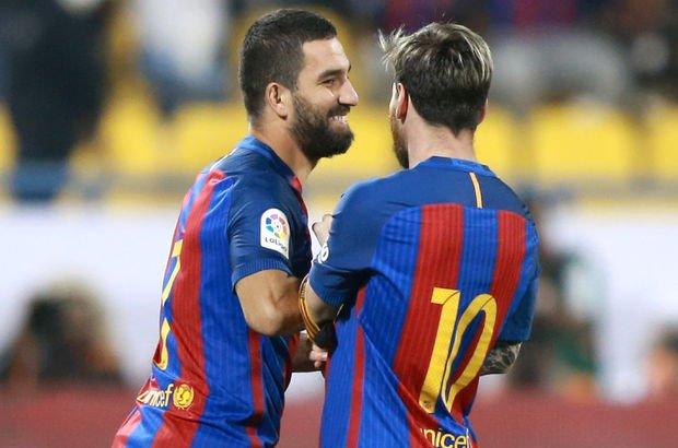 Arda Turan Messi terlik
