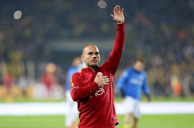 Sneijder'ın istediği takımı açıkladı!