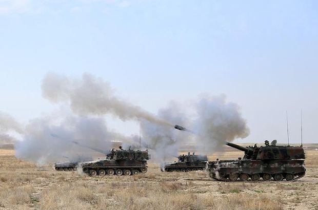 TSK, terör örgütü PYD mevzilerini bombaladı