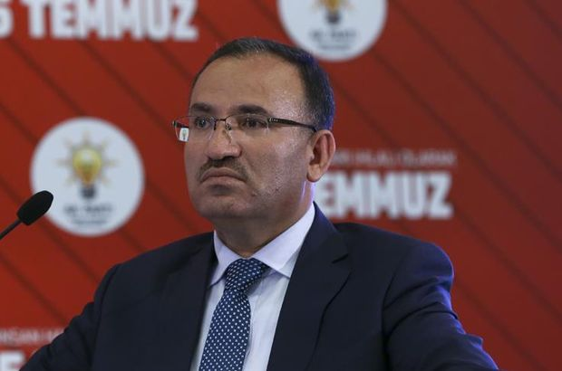 Bakan Bozdağ'dan 'Hero tişörtü' açıklaması