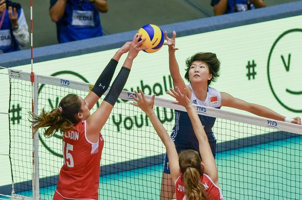 A Milli Kadın Voleybol Takımı, Çin