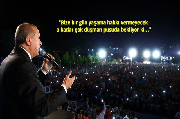 Ankara'daki Milli Birlik Yürüyüşü