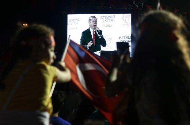 Telefon aramalarında Cumhurbaşkanı Recep Tayyip Erdoğan'dan 15 Temmuz mesajı
