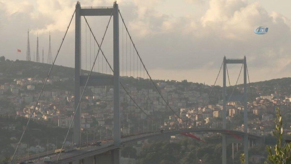 15 Temmuz Demokrasi ve Milli Birlik Günü Anma Töreni 15 Temmuz Şehitler Köprüsü