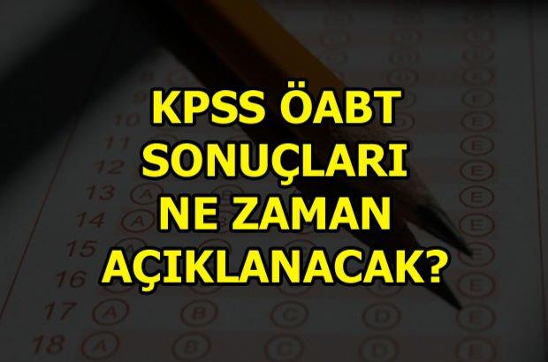 KPSS ÖABT sonuçları ne zaman açıklanacak? KPSS Öğretmenlik ve Alan Bilgisi sonuçları ne zaman?