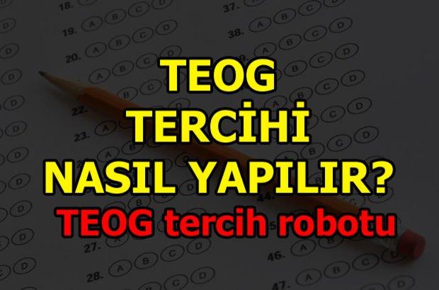 TEOG tercihi nasıl yapılır? Lise tercih nasıl yapılır? TEOG tercih robotu 2017!
