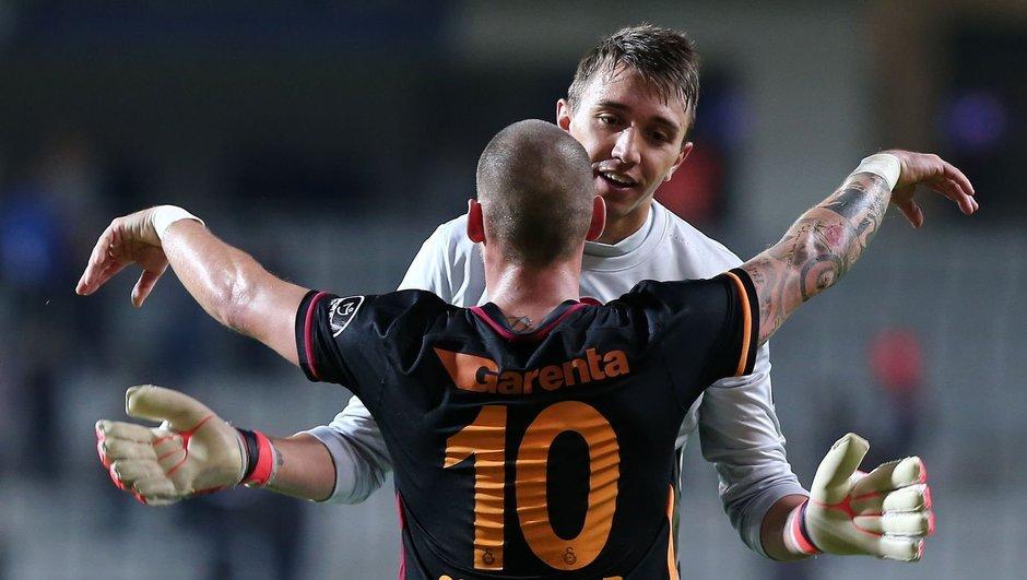 Sneijder Muslera Galatasaray