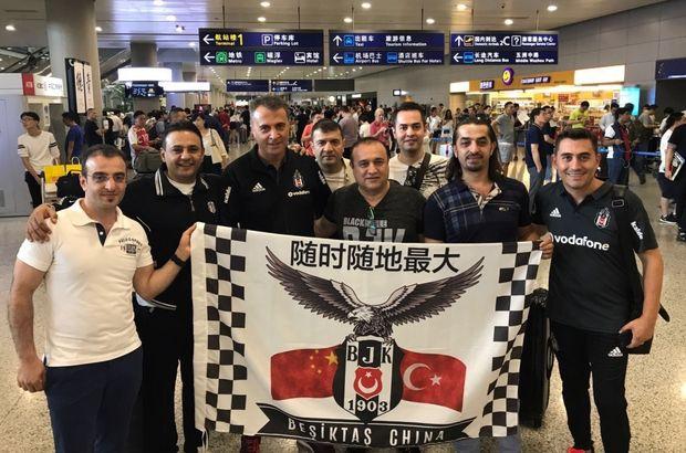Beşiktaş Başkanı Fikret Orman Çin'e gitti