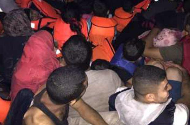 Kuşadası'nda 101 kaçak göçmen yakalandı
