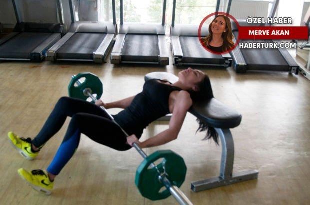 Milli sporcu Selin Nalıncı'nın IFBB şampiyonası hazırlık süreci