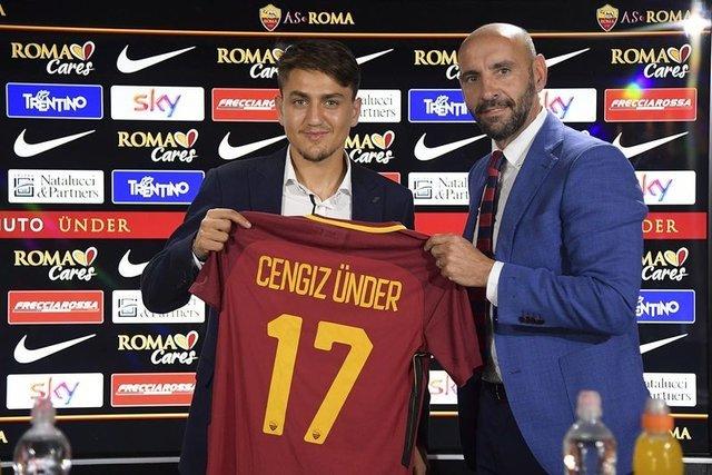 Cengiz Ünder, Roma'ya nasıl transfer oldu - Monchi'nin Cengiz Ünder yorumu