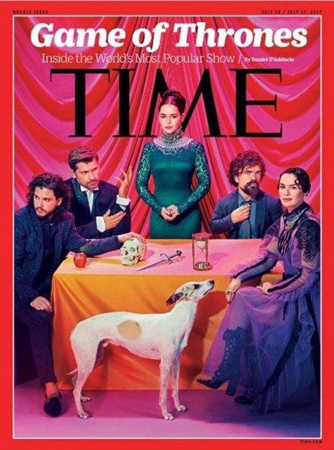 Game of Thrones ekibi Time kapağında!