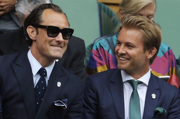 Nico Rosberg kraliyet locası
