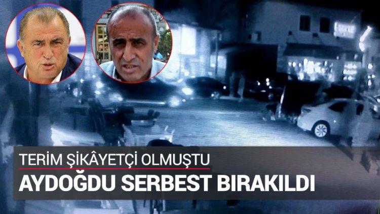 Fatih Terim'e basın yoluyla hakaret ve tehdit ettiği iddiasıyla gözaltına alınan restoran sahibi Selahattin Aydoğdu serbest bırakıldı.