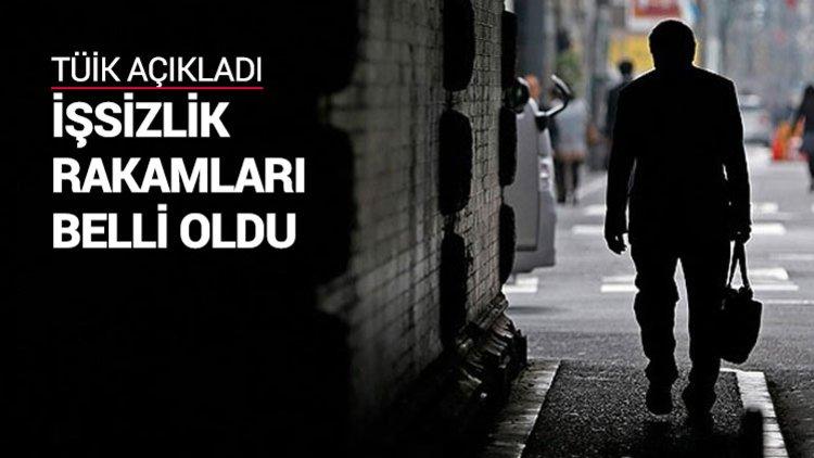 Türkiye İstatistik Kurumu (TÜİK), nisan ayına ilişkin iş gücü istatistiklerini açıkladı. Buna göre işsizlik oranı, nisan ayında yüzde 10.5 seviyesinde gerçekleşti.