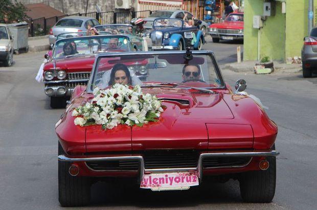 Bursa'da milyonluk düğün konvoyunu görenler gözlerine inanamadı