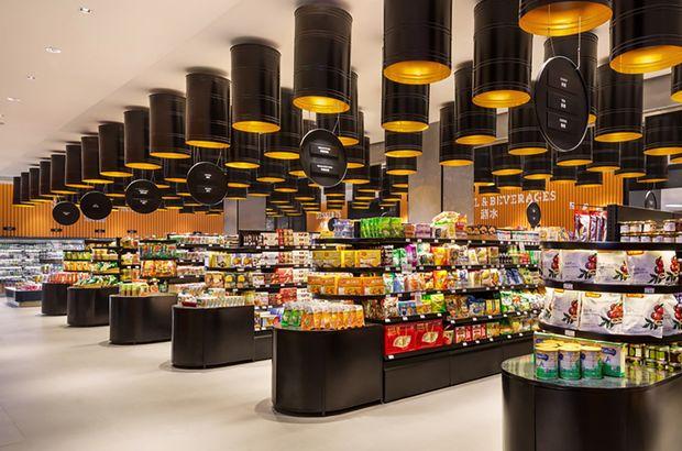 Çin gıda süpermarket