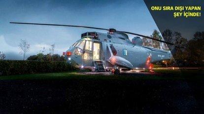 Bu helikopter diğerlerinden çok farklı!