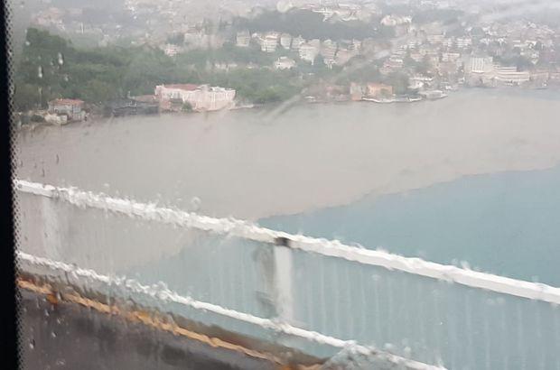 İstanbul Boğazı'nda şaşırtan görüntü