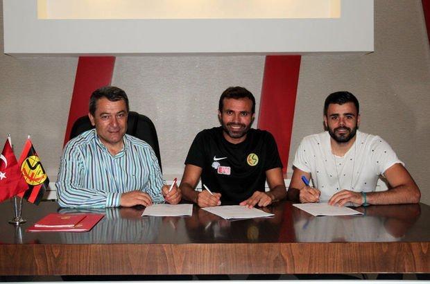 Eskişehirspor'da 5 futbolcu sözleşme yeniledi