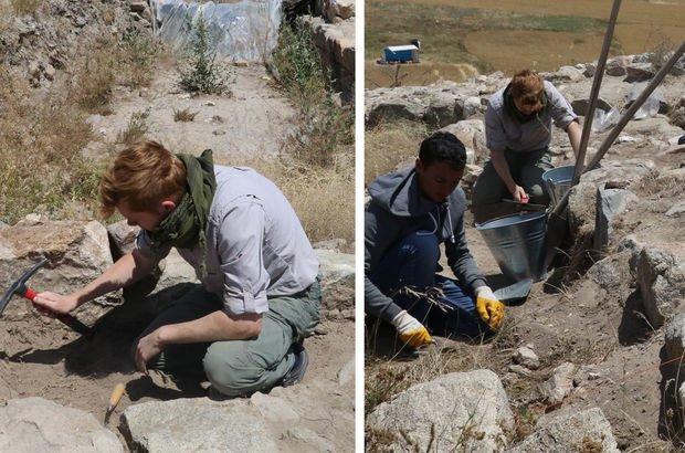 Yozgat'ın Sorgun ilçesindeki kazı çalışmaları