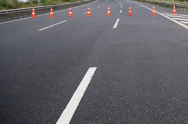 TEM Otoyolu İstanbul yönü 1 ay trafiğe kapatılacak