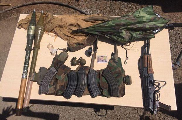 Hakkari'de PKK ile çıkan çatışmada bir terörist etkisiz hale getirildi