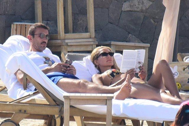 Rüştü Reçber'den eşi Işıl Reçber'e bikini uyarısı!