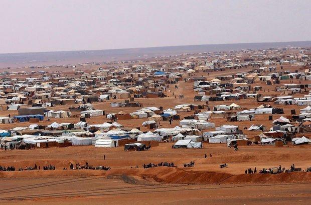 Suriyeli sığınmacıların kampında patlama