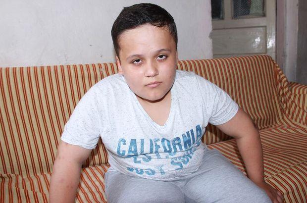 Hidrosefali hastası 12 yaşındaki Müslüm Saydut tedavi olmak istiyor