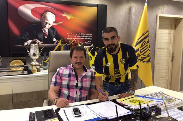 Ankaragücü Sercan Kaya ön sözleşme imzaladı