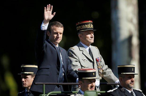 Fransa Genelkurmay Başkanı istifa etti!