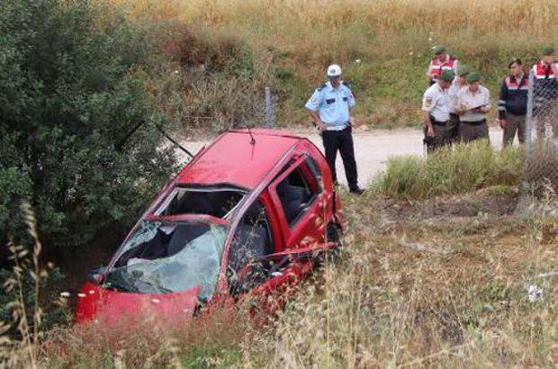 TEM'de otoyolunda kaza: 2 ölü, 4 yaralı