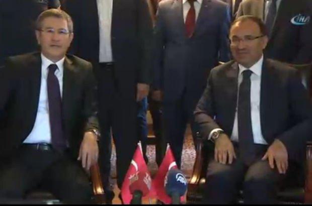 Nurettin Canikli, Bekir Bozdağ'a görevini devretti