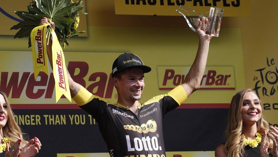 17. etabı Roglic kazandı!