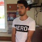 """""""Hero"""" yazılı tişörtle duruşmaya gelen şüpheli tutuklandı"""