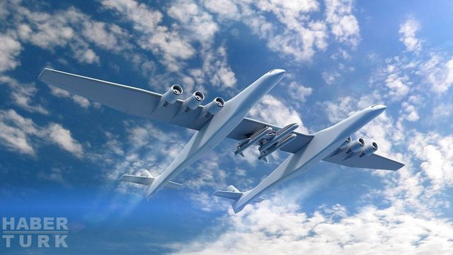 Dünyanın en büyük uçağı Stratolaunch ve sıra dışı amacı