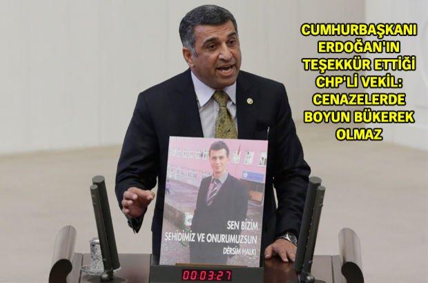 CHP'li Gürsel Erol, 550 vekili Tunceli'de teröre karşı yürüyüşe davet etti