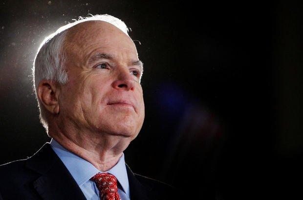 ABD'li senatör John McCain'e beyin tümörü teşhisi!