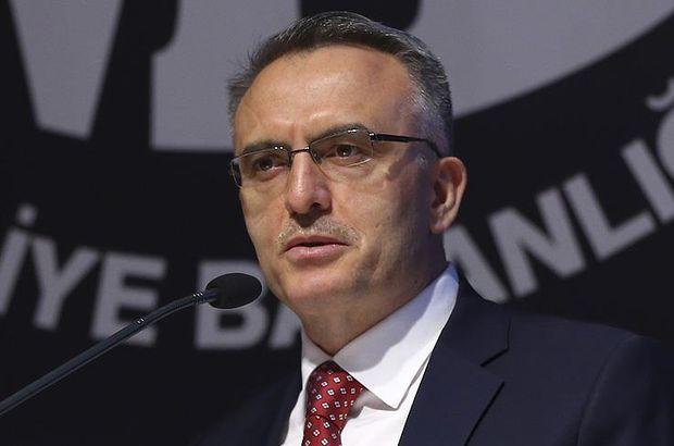 Maliye Bakanı Naci Ağbal'dan KDV açıklaması