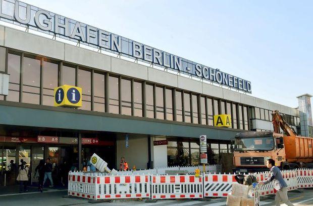 Almanya'da güvenlik alarmı: Berlin Havaalanı boşaltıldı