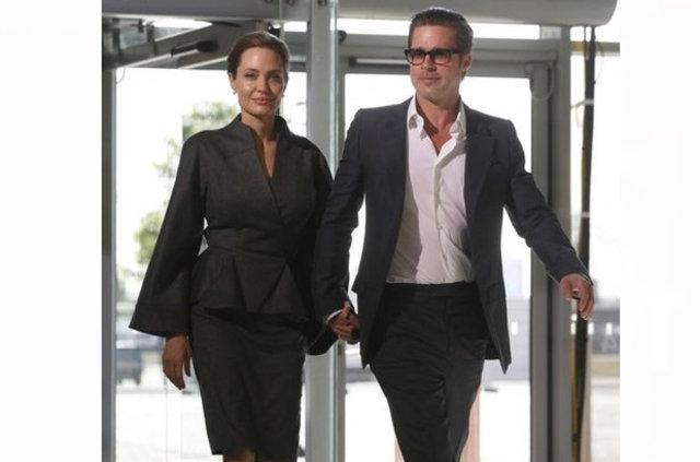 Brad Pitt ve Angelina Jolie 'gizlice' buluşuyor